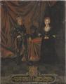 Fredrik I, 1471-1533, kung av Danmark och Norge och Anna, 1487-1514, prinsessa av Brandenburg - Nationalmuseum - 15801.tif