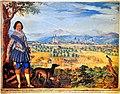 Freiherr Franz III. Khevenhüller und Klagenfurt Bild von 1615.jpg