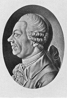 Klopstock, Schabkunstblatt von Johann Elias Haid (Quelle: Wikimedia)