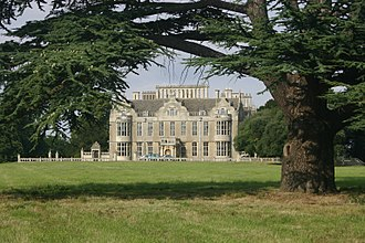 Lilford Hall - West facade of Lilford Hall