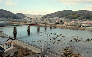 Takebe, Okayama - A view of Fukuwatari in Takebe, Okayama
