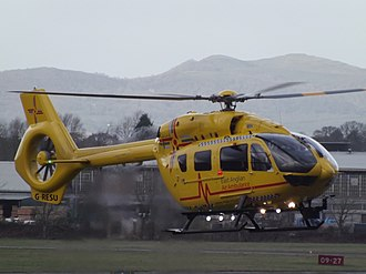 East of England Ambulance Service - Helicopters from the East Anglian Air Ambulance are based in Cambridge and Norwich.