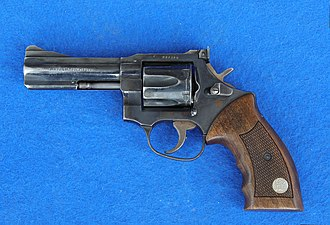 GIGN - an MR 73 Manurhin revolver is traditionally issued to each GIGN operator