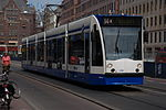 GVB Combino 2086 (Amsterdam tram) on route 14, May 2008.jpg