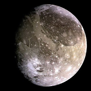 Ganymede (moon) The largest moon of Jupiter and in the Solar System