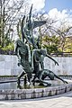 Garden Of Remembrance - Statue Of The Children of Lir by Oisín Kelly (Rebirth ^ Resurrection) - panoramio (2).jpg