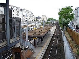 Maisons-Laffitte station - Platforms