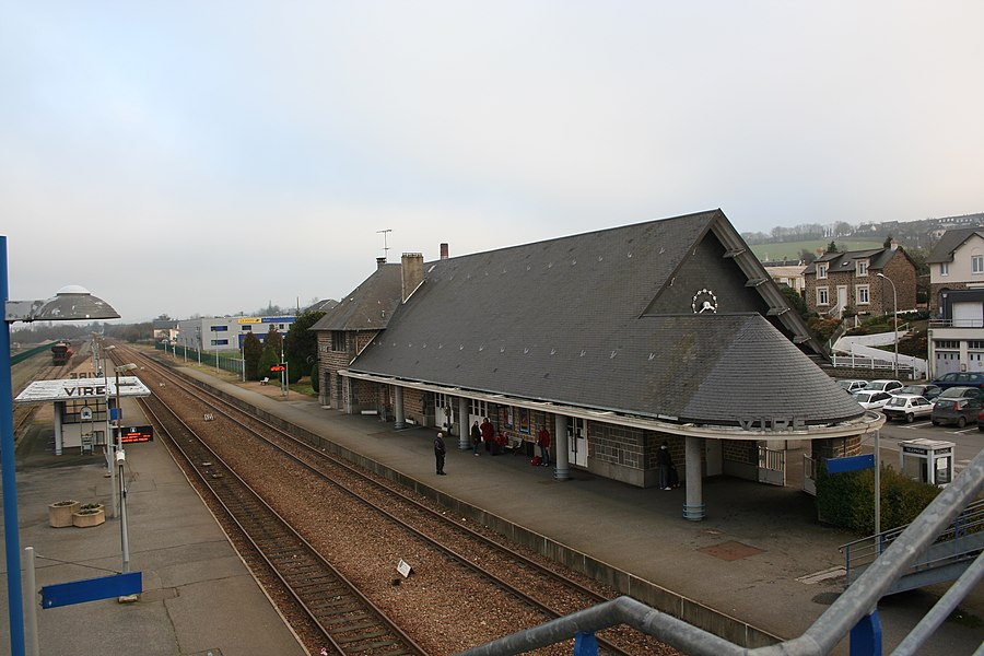 Gare ferroviaire de vire - Calvados - France