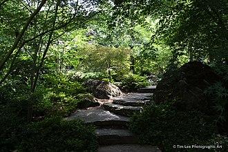 Garvan Woodland Gardens - Garvan Woodland Gardens' Japanese Garden.