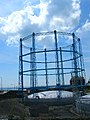 Gas holder, Black Rock, Brighton - geograph.org.uk - 41936.jpg