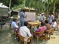 Gathering in a meeting of villagers in an Bangladeshi village 2015 39.jpg