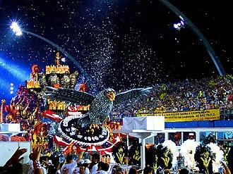 Anhembi Sambadrome - Gaviões da Fiel at the Carnival of São Paulo.