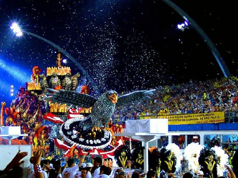 brazilian carnival howling pixel