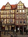 Geburtshaus Georg Heinrich Pertz Hannover Altstadt Holzmarkt 2.jpg