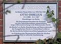 Gedenktafel Brüderstr 5 (Lichf) Otto Dibelius.JPG