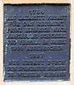Gedenktafel Moritzstr 9 (Span) Militärlazarett Spandau.jpg