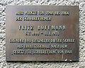Gedenktafel Onkel-Bräsig-Str 79 (Britz) Fritz Hoffmann.JPG