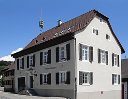 The municipality house of Gempen