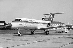 General Air Yakovlev Yak-40 Groningen Airport.jpg