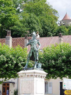 Poligny, Jura - Image: General Travot, Poligny