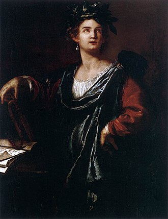 Clio - Clio: the Muse of History by Artemsia Gentileschi.