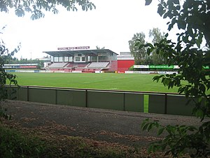 TSV Rain am Lech - The Georg Weber Stadium.
