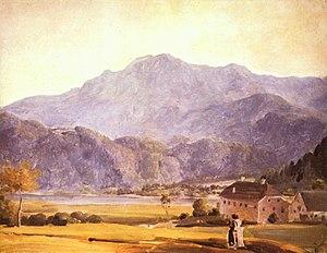 Johann Georg von Dillis - Landscape, c. 1800