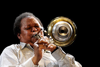 English: George Lewis, moers festival 2009