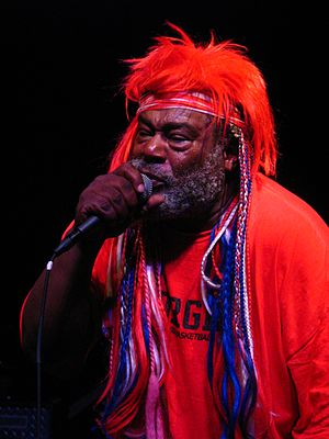 Freaky Styley - The band felt a strong chemistry with producer George Clinton (pictured in 2007).
