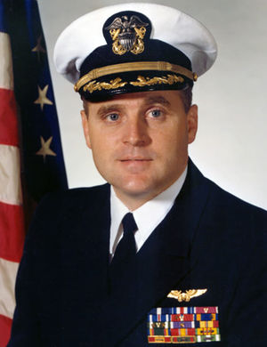 George Thomas Coker - Coker's USN photo (c. 1980)