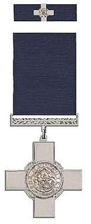 George Cross award for bravery in the United Kingdom