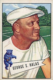 George Halas American football player, coach, executive and owner; baseball player