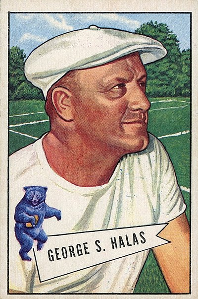 George Halas, American football player, coach, executive and owner; baseball player