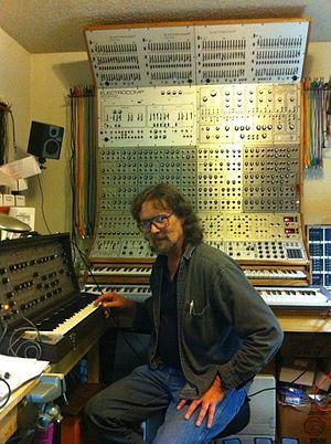 George Mattson (synthesizer inventor) - George Mattson in his lab, 2011