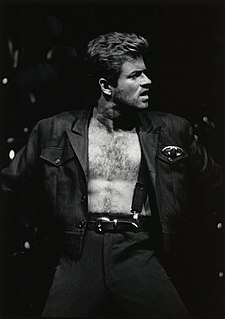 George Michael English singer-songwriter, musician, producer