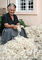 Georgian woman carding wool.jpg