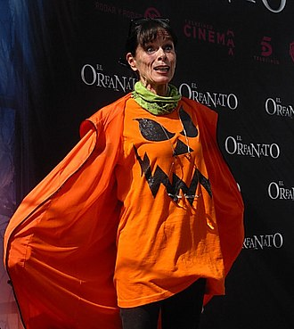 Geraldine Chaplin - Chaplin at a screening of The Orphanage in Madrid in 2007.