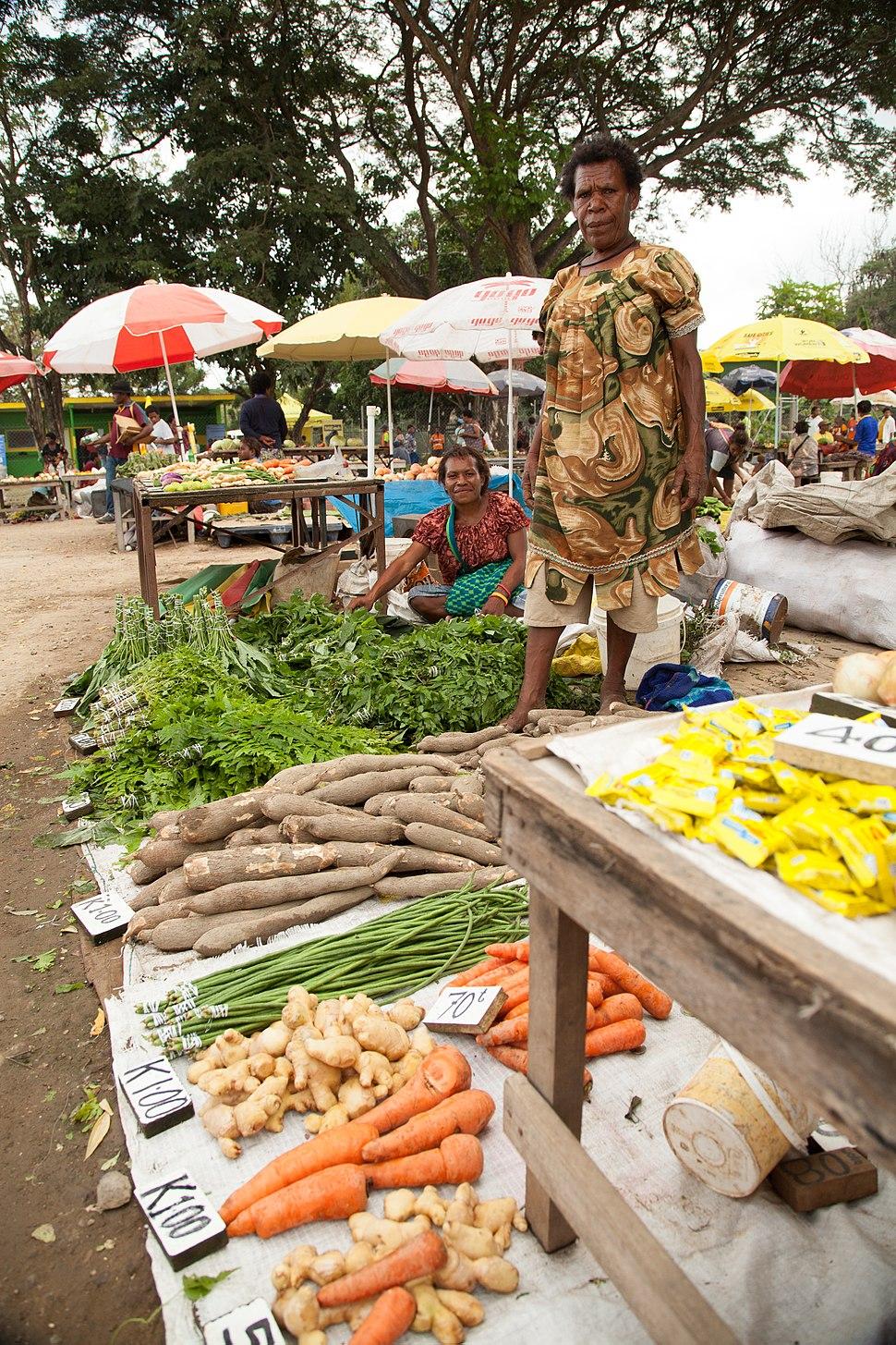 Gerehu Markets Port Moresby, Papua New Guinea (10697550585)