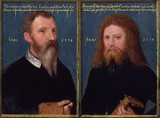 1554 in art - Image: Gerlach Flicke; Henry Strangwish (or Strangways) by Gerlach Flicke