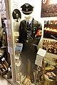 "German Allgemeine SS black parade uniform (Sturmbannführer); Peaked visor skull cap; Odal rune; ""reichsführung-SS"" brassard cuffband; Himmler card; etc DSC00073.jpg"