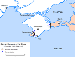 German Conquest of the Crimea