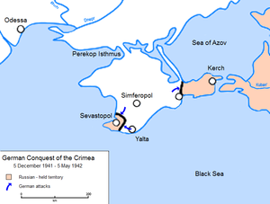 390th Rifle Division - Image: German Conquest of the Crimea