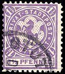 Germany Stuttgart 1890-99 local stamp 1.5pf - 11a used.jpg