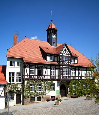 Gernrode - Town hall