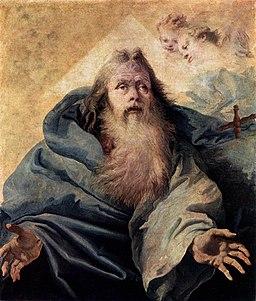 Giovanni Domenico Tiepolo - God the Father - WGA22376