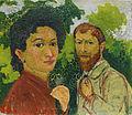Giovanni Giacometti - 'Annetta and Giovanni Giacometti', around 1902-03.jpg