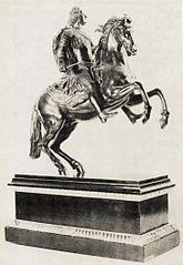 Posąg konny Augusta Mocnego