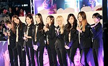 Girls' Generation at the Cheonggye in March 2014.jpg
