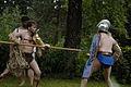 Gladiatorenkampf im Archäologischen Freilichtmuseum Oerlinghausen.jpg