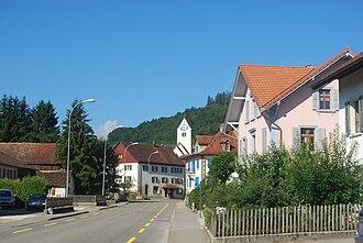 Glovelier - Glovelier village